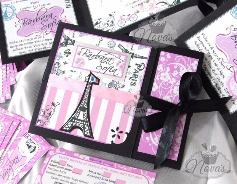Ideas para xv años Paris | varios | Pinterest | Fiesta ideas, Años y ...