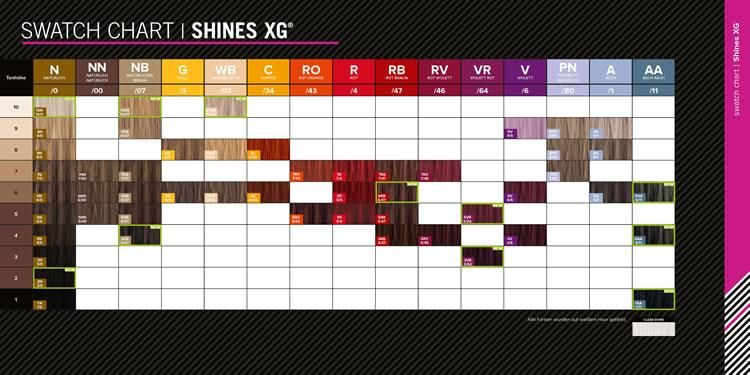 paul mitchell shines xg brown hair colour google - Paul Mitchell Color Swatch Book