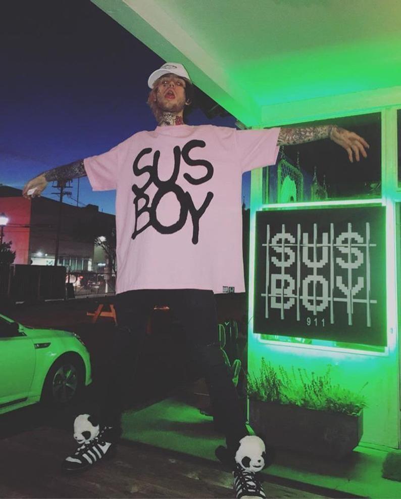 Lil Peep Sus Boy shirt. Lil Peep Shirt