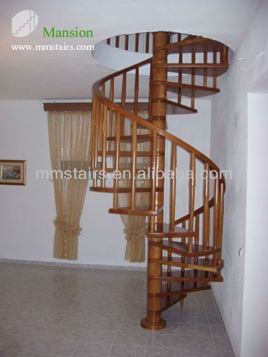 Best Solid Wood Spiral Stairs Staircase View Wood Spiral 400 x 300