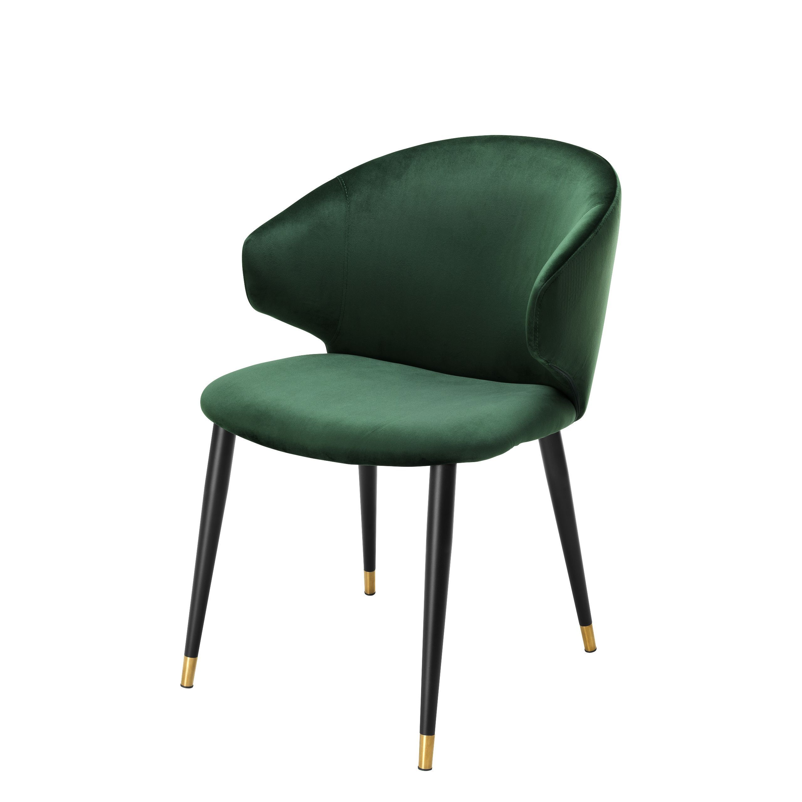 Green Velvet Dining Chair Eichholtz Volante In 2020 Velvet Dining Chairs Dining Chairs Green Dining Chairs