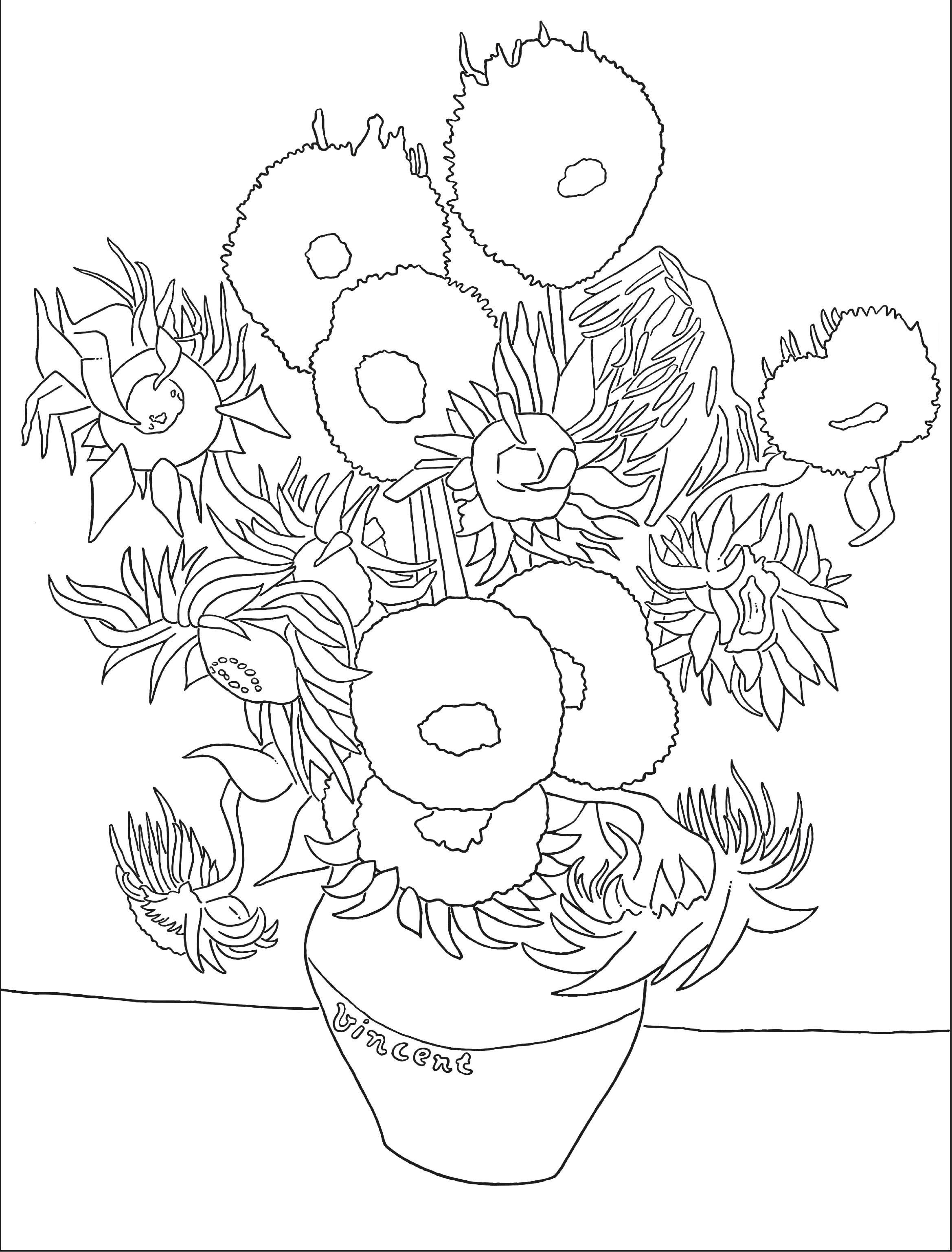 Hoe Ziet Jouw Versie Van De Zonnebloemen Eruit Vincent Van Goghs Zonnebloemen Zijn Wereldberoemd Hij Maakt Zonnebloem Tekening Van Gogh Van Gogh Zonnebloemen