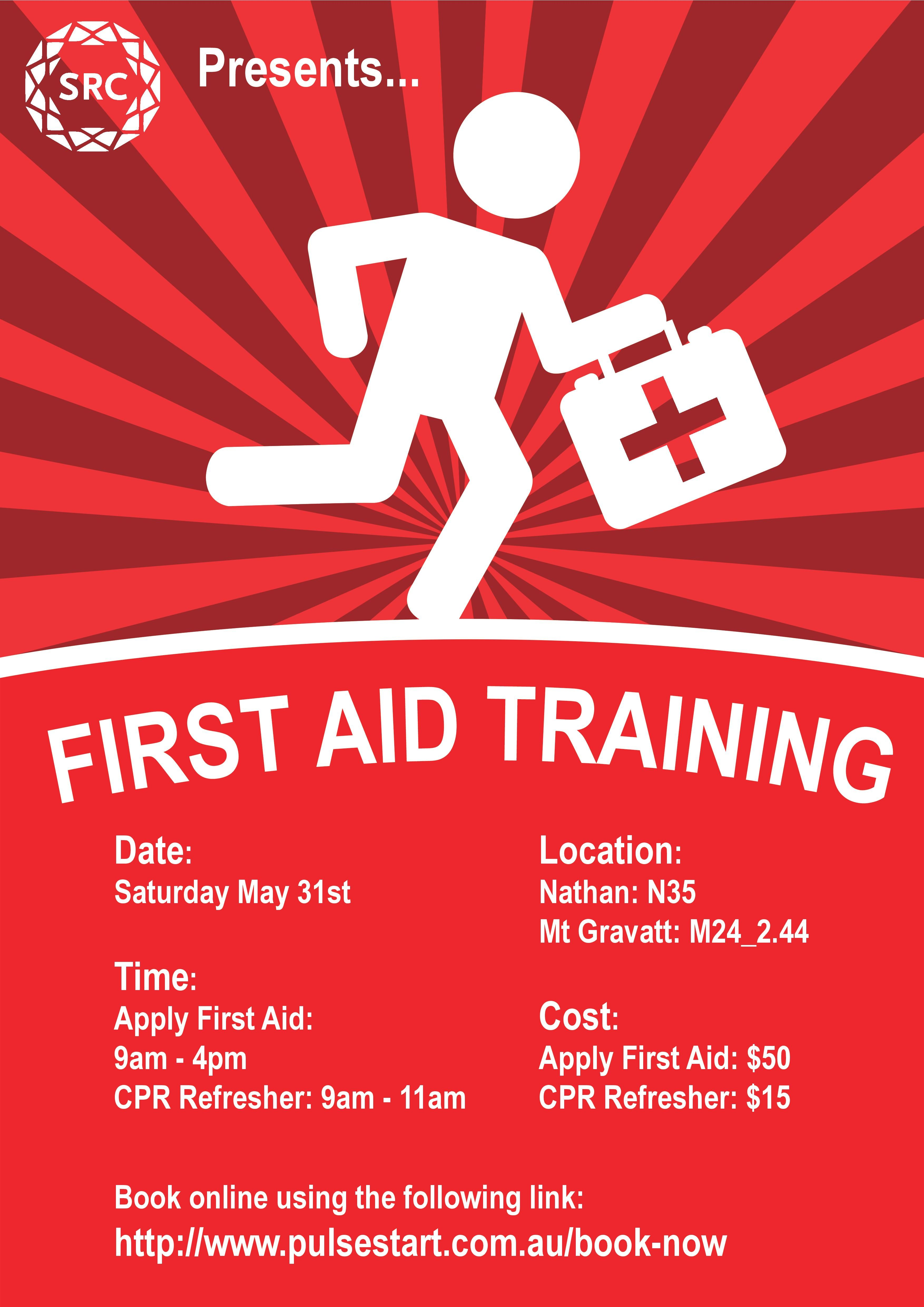 First Aid Training Poster