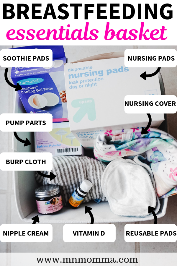 Breastfeeding Station And Care Kit Essentials List What To Put