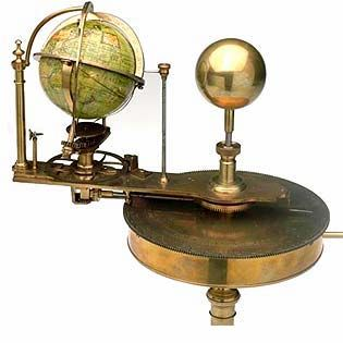 Orrery. T2: I want to build one of these.