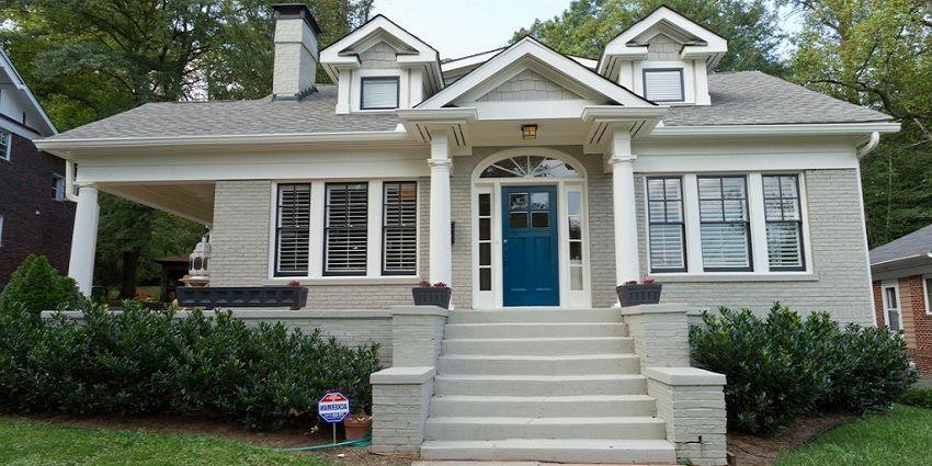 Exterior Paint Color Light Gray House Paint Exterior Gray House