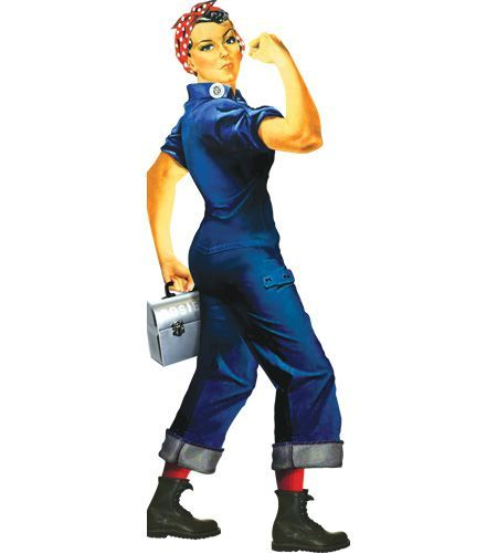 Adult Woman Military Uniform Dress Women/'s Rosie The Riveter Halloween Costume