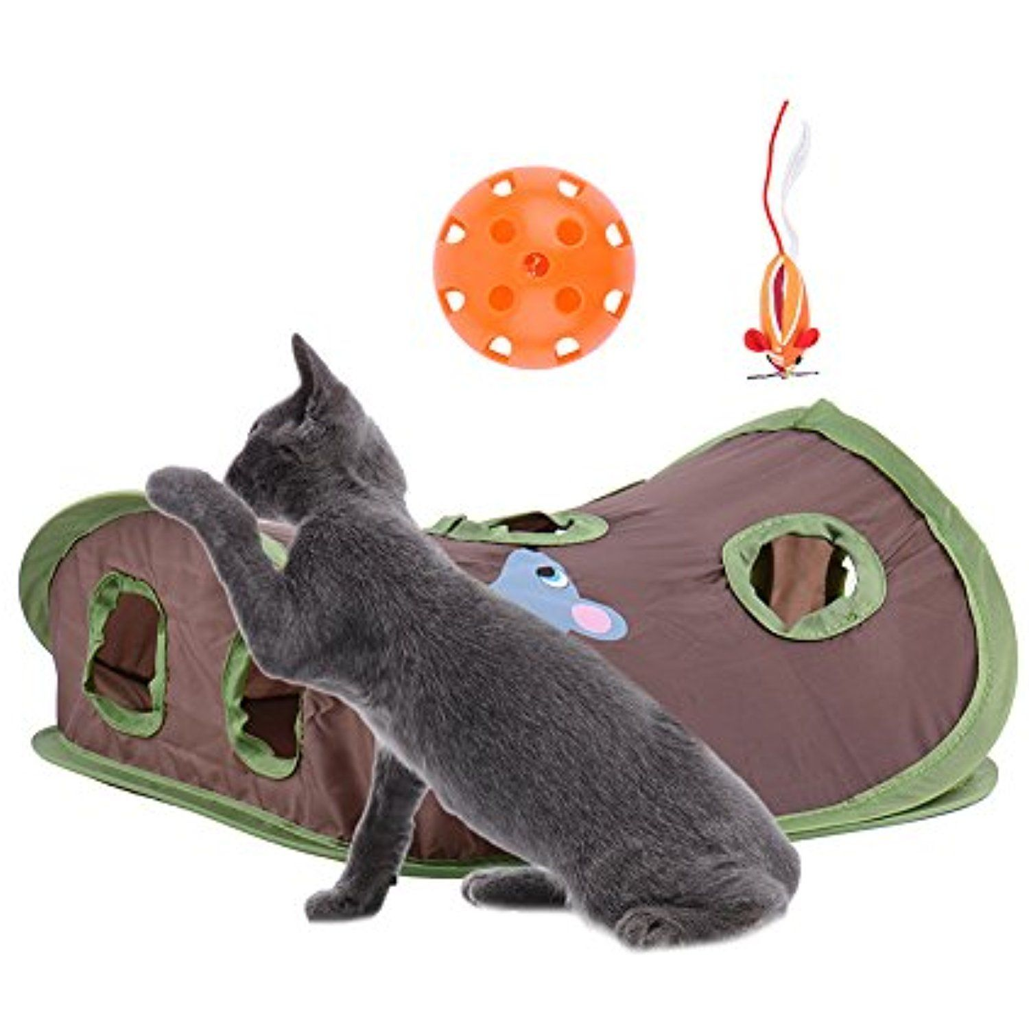 Small Cat Kittens Interactive Toys Cats Multi functional Hunt Toys