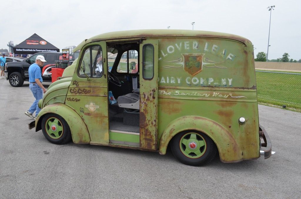 1948 Divco Milk Van Rat Rod . Linton.   Divco Milk Trucks ...