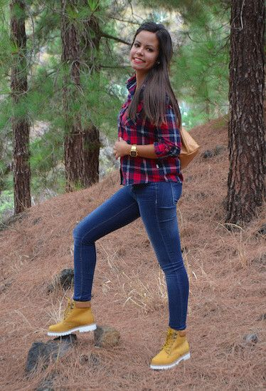 24 Cute Outfits to Wear with Timberland Boots For Girls