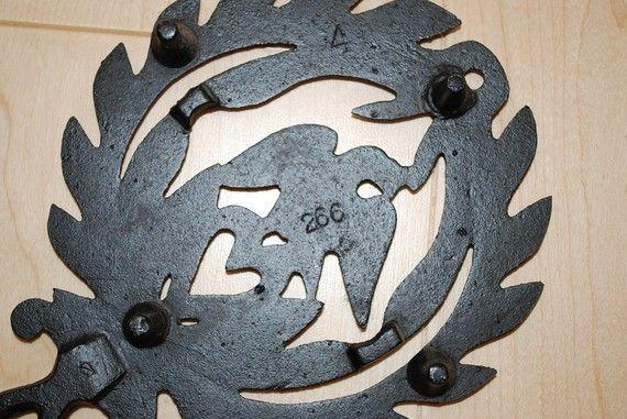 Vinatge Eagle Cast Iron Trivets by samjams3 on Etsy, $12.00