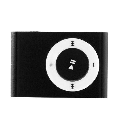 Kids' MP3 Players - Mini Fashoin Clip Metal USB Mp3 Music Media Player Support 2GB 4GB 8GB Micro Sd Tf Black *** Check this awesome product by going to the link at the image.