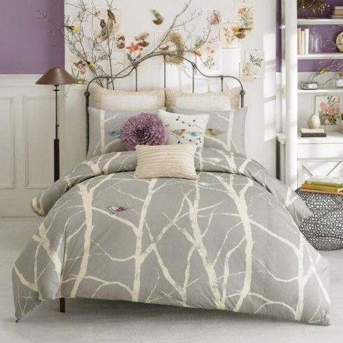color scheme for purple bedroom | purple and grey color scheme for bedroom