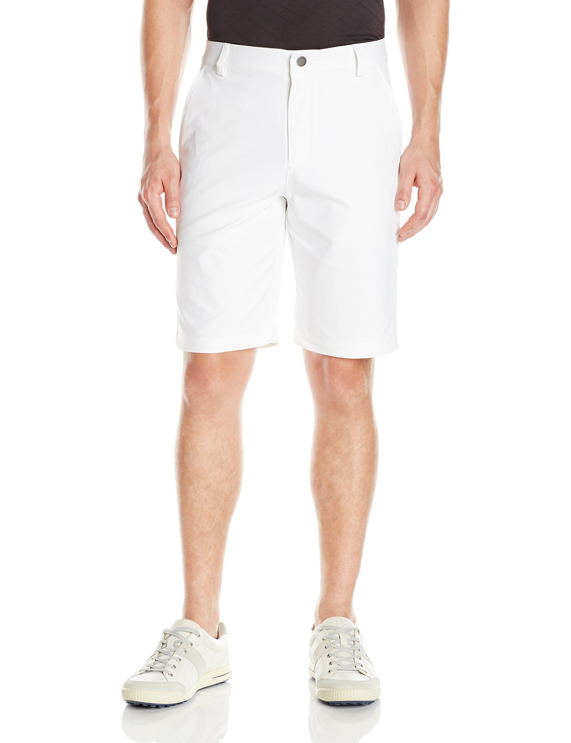 22aaa634d771 Men Golf Clothing - PUMA Golf Mens Essential Pounce Shorts Bright White  Size 32