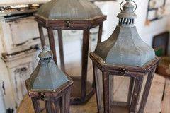 Wood and Metal Lanterns - The Magnolia Market