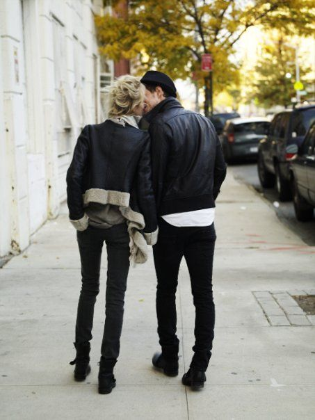 A romantic time is just walking hand in hand................