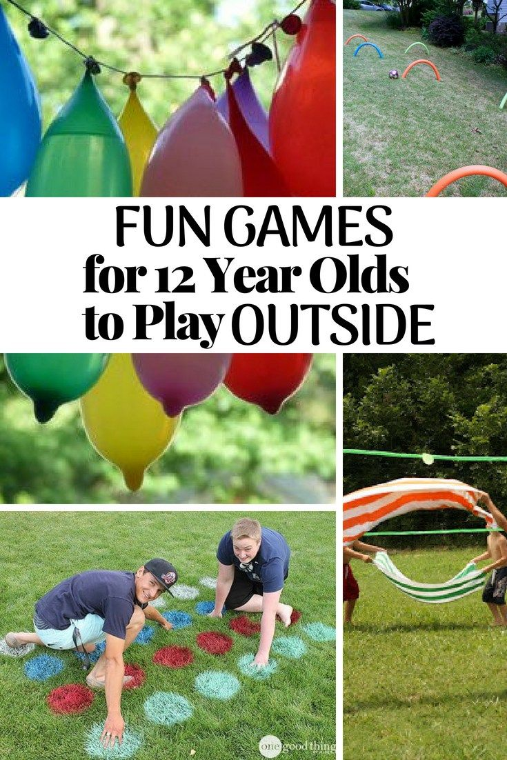 Fun Games For 12 Year Olds To Play Outside 12 Year Old