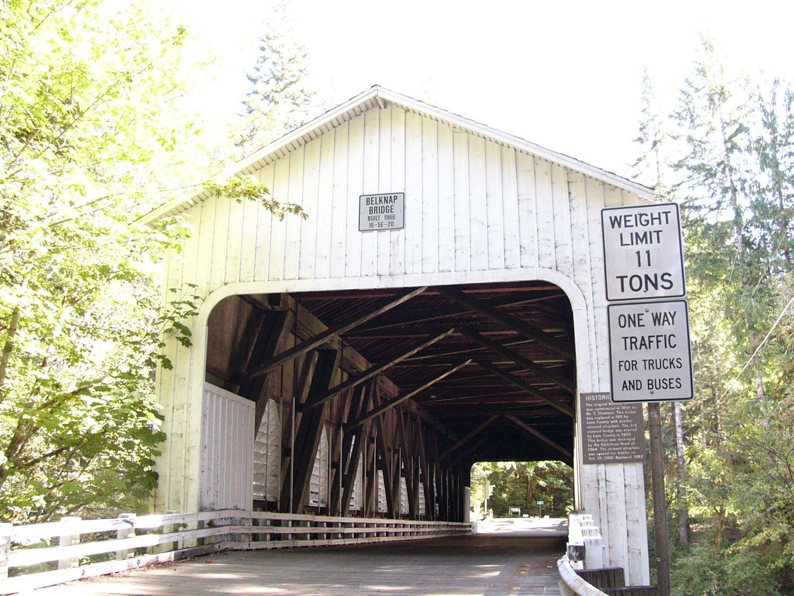 Belknap Covered bridge, Oregon