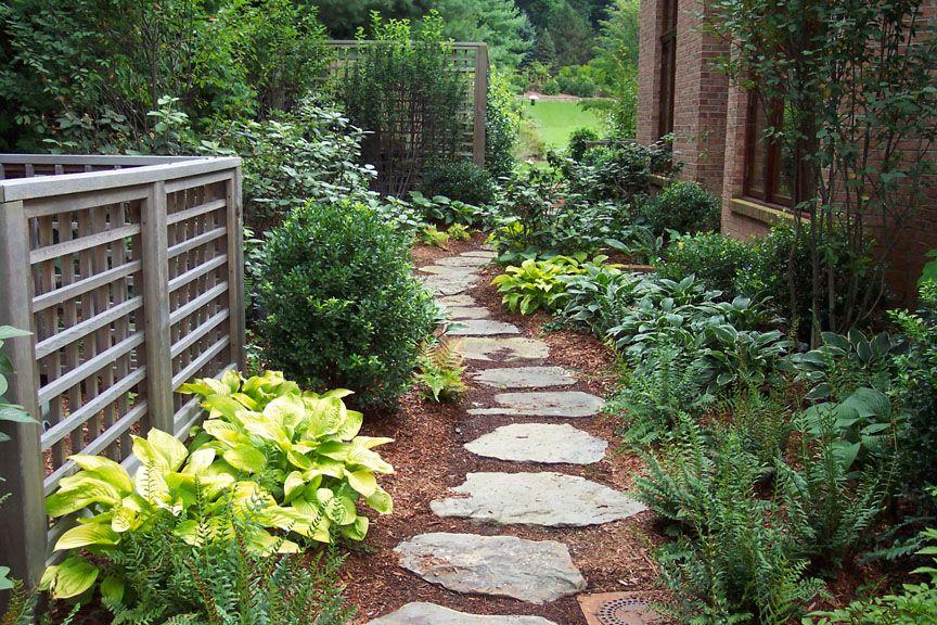 Landscaping Ideas By Nj Custom Pool Backyard Design Expert Shade Garden Design Shade Landscaping Shade Garden