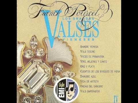 FRANK POURCEL -  LOS GRANDES VALSES VIENESES -  (Disco Completo).-