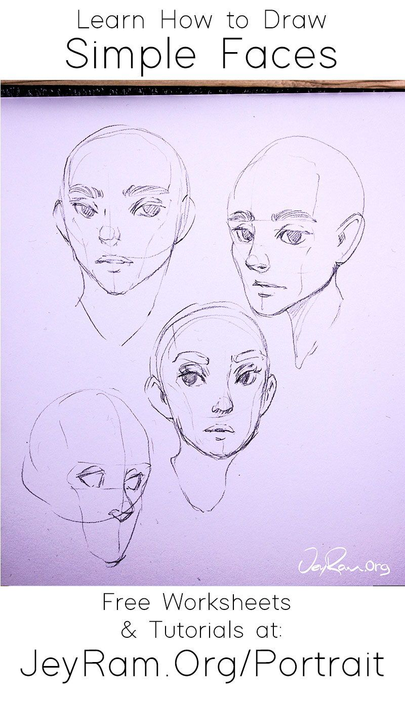 How To Draw Faces Tutorial Series In 2020 Drawing Face Shapes Anime Face Shapes Drawings