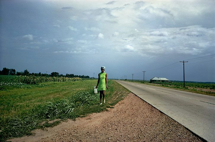 Credit: Eggleston Artistic Trust. Courtesy of Gagosian Gallery Untitled, 1970, from William Eggleston's Guide
