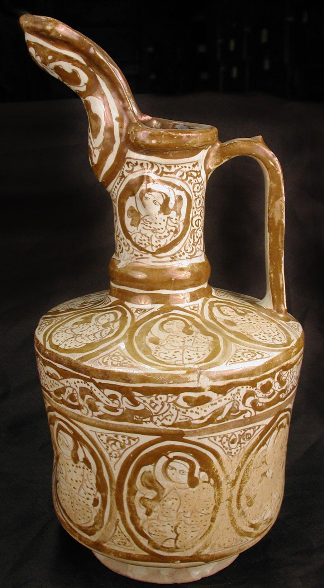 Ewer date 12th century geography iran culture islamic
