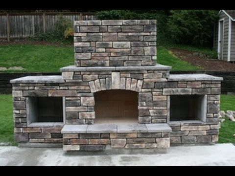 Perfect DIY   Building An Outdoor Fireplace