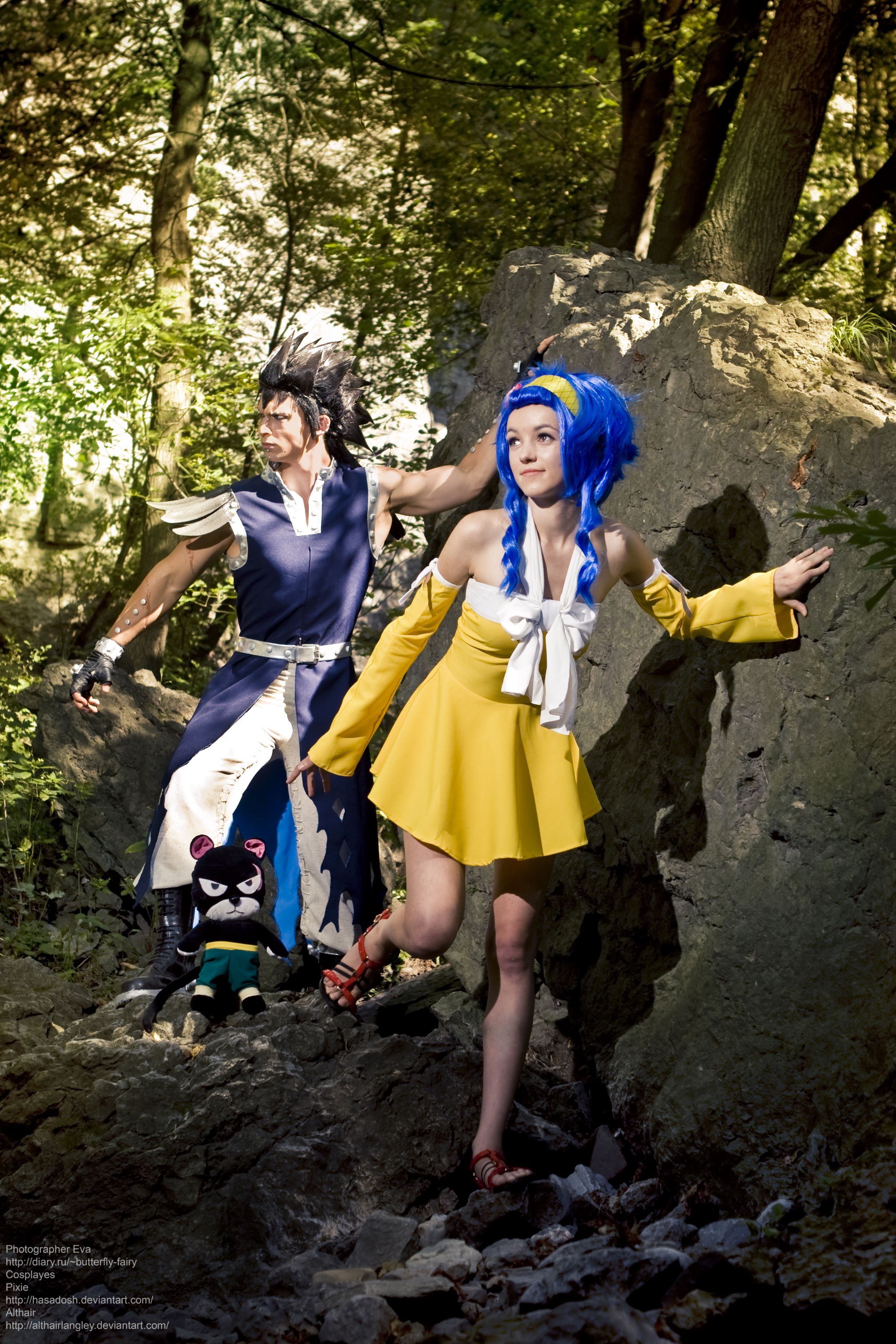 Gajeel Redfox cosplay Althair (8) by AlthairLangley ... Fairy Tail Cosplay