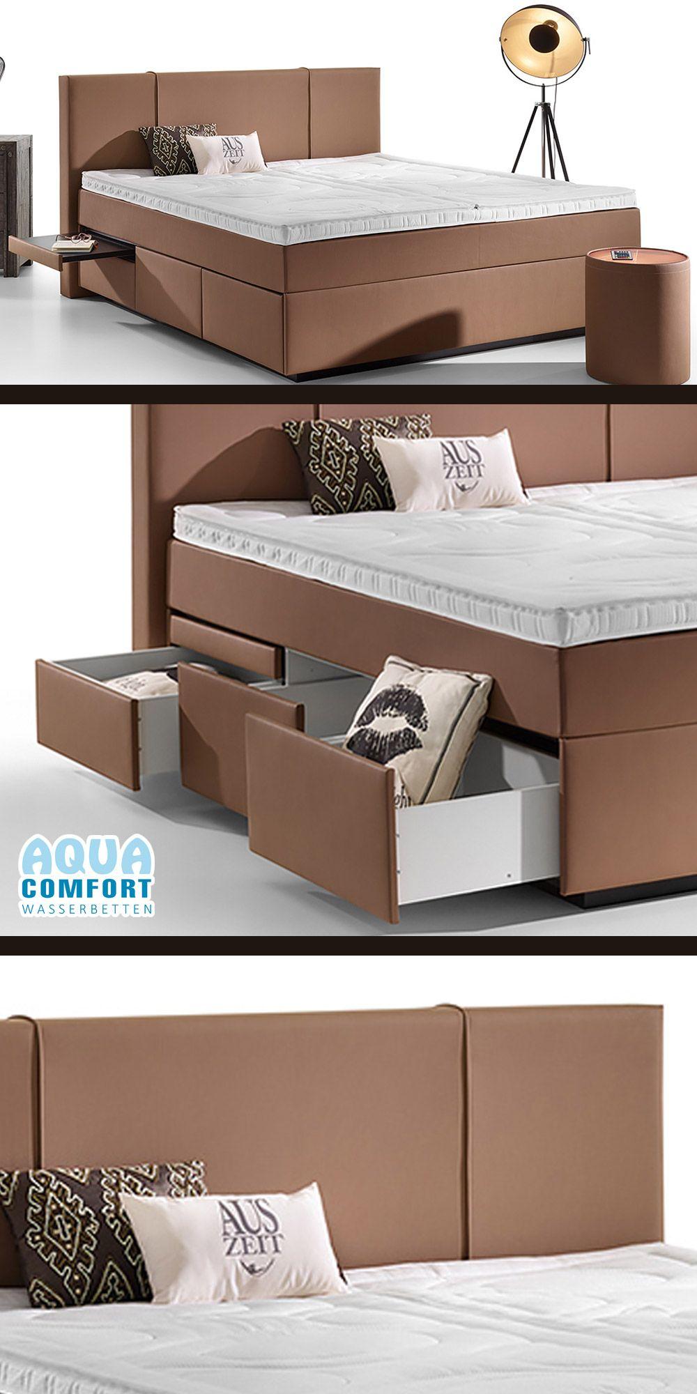 Boxspring Wasserbett Valencia Mit Schubladen Online Kaufen Bett