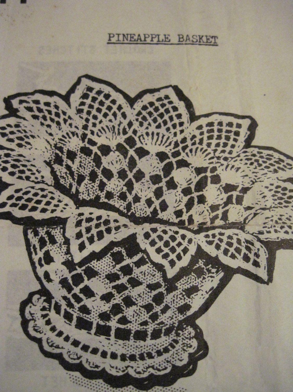 Crochet Basket Pattern - Free Vintage Craft Patterns - Crochet ...