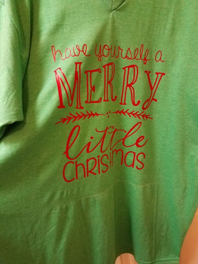 have yourself a merry little christmas shirt design came from etsy heat transfer vinyl