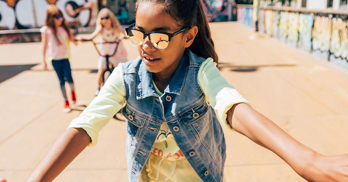 KidsGafas Niños Sol · Gold Classic Black Para Rose Diamond De DH2YEWIbe9