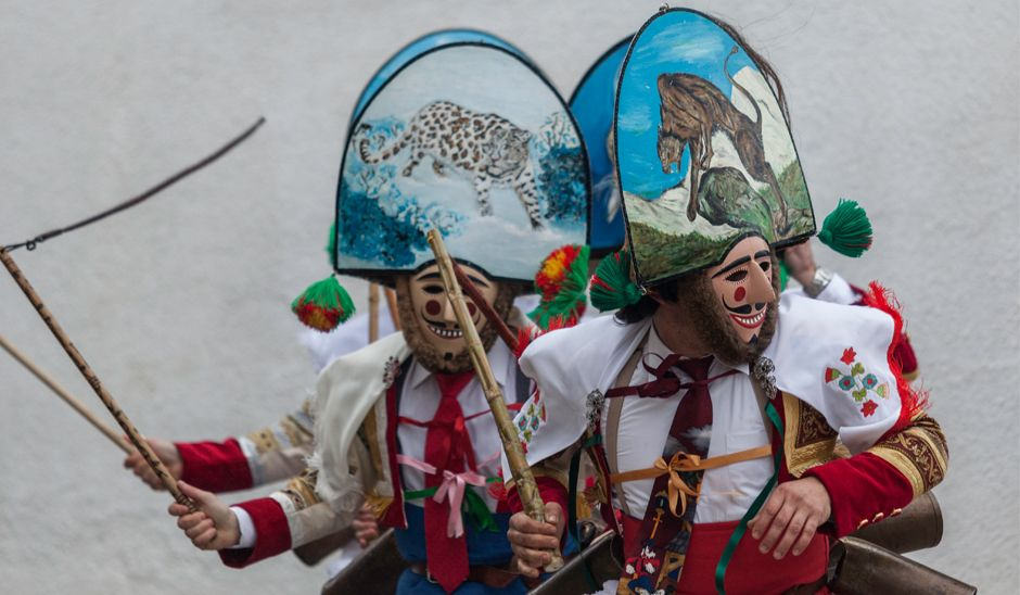 Carnaval de Laza, Galice © Pedro García Losada (SAGA)