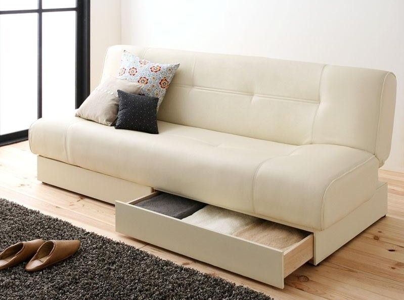 sofa bed with storage couch storage