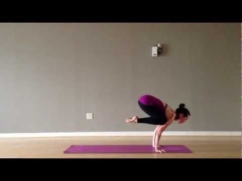 awesome crow to forearm stand scorpion yoga flow  yoga