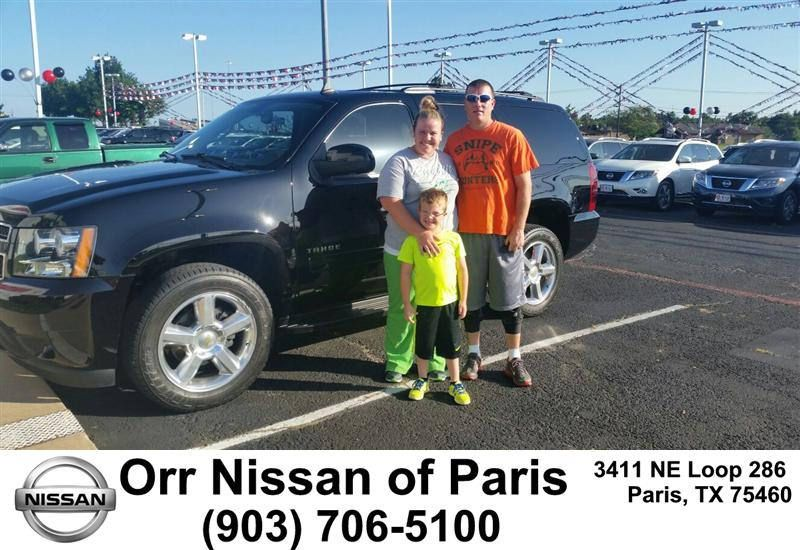 https://flic.kr/p/vpaQ41 | Congratulations to Tyrel Hatcher on your #Chevrolet #Tahoe from Mary Vincil at Orr Nissan of Paris! #NewCar | www.corinthnissan.com/?utm_source=Flickr&utm_medium=D...