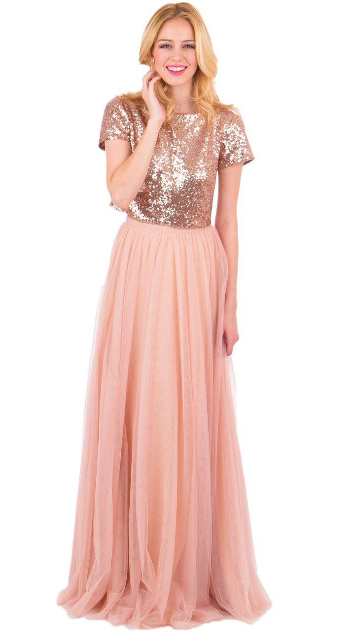 Bandie Sequin Top | Vestido para bodas, Falda y Vestiditos