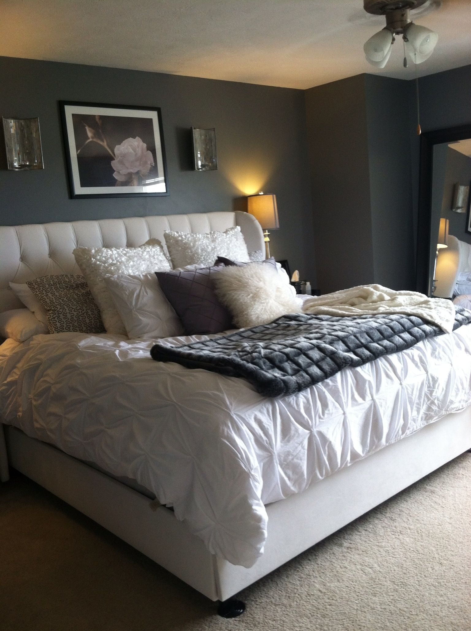 Cityscape by Sherwin Williams. My bedroom project! Home