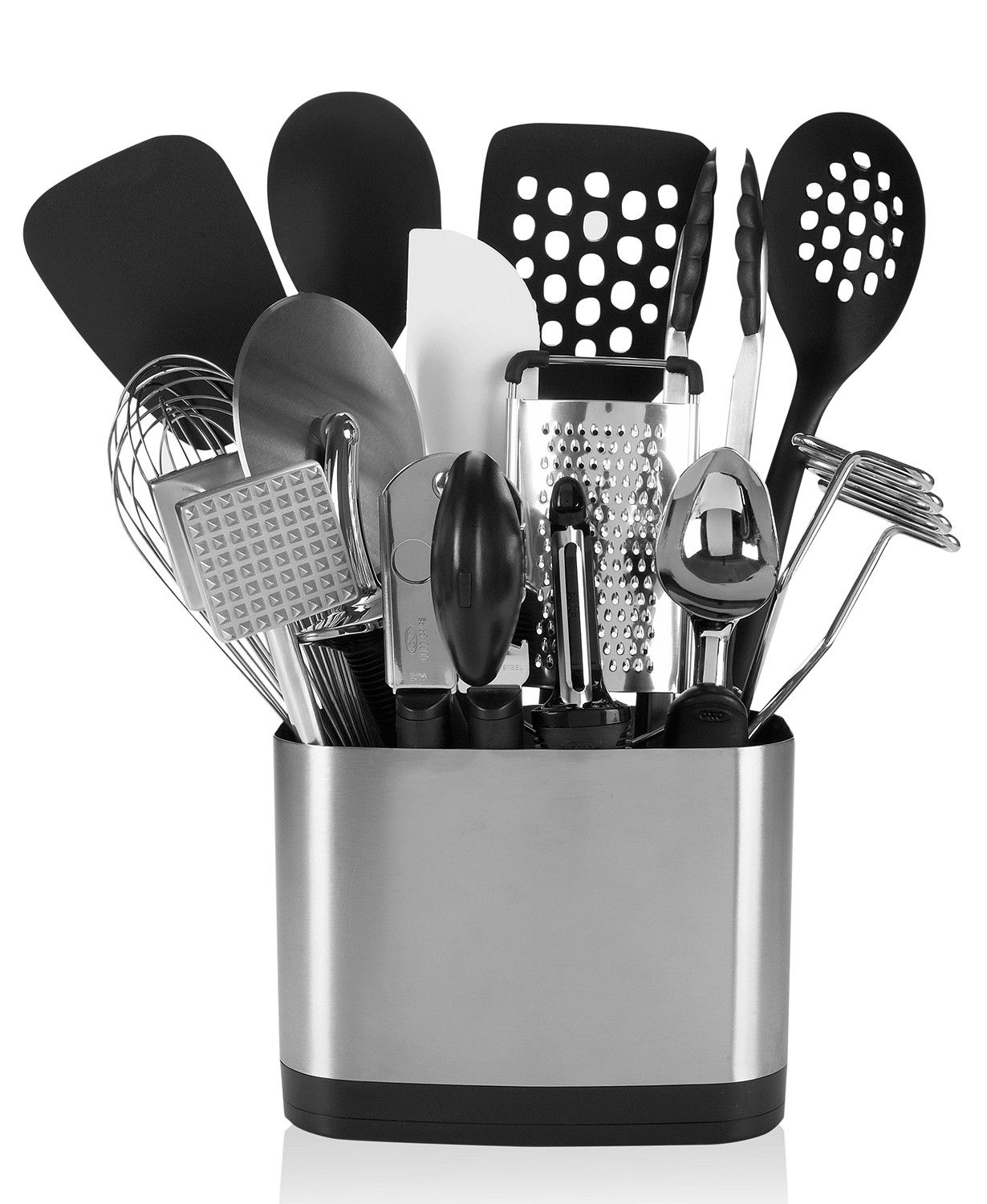 Oxo 15 Piece Kitchen Utensil Set Reviews Home Macy S Kitchen Utensil Set Utensil Set Essential Kitchen Tools