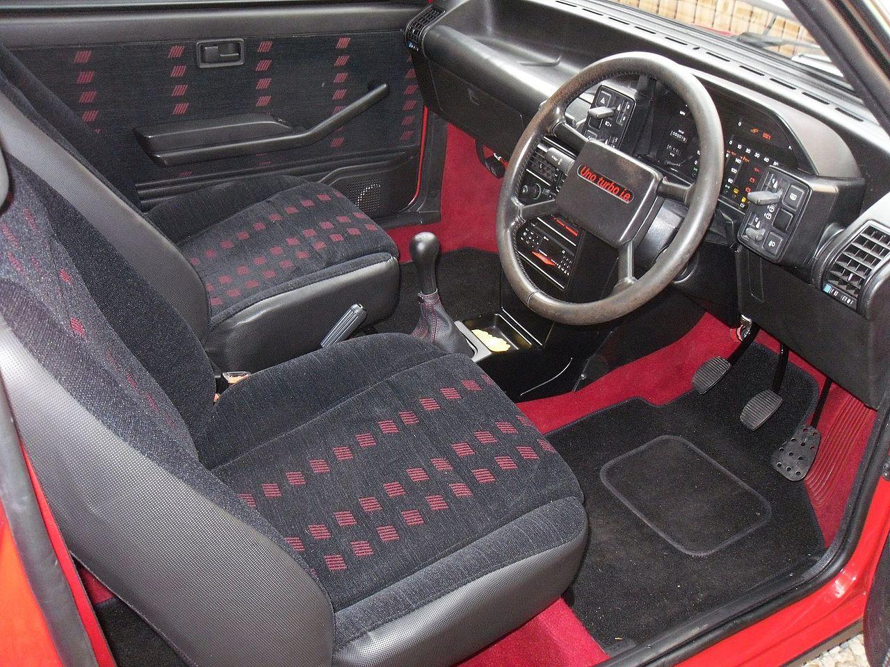 First Series Fiat Uno Turbo I E Interior 1988 Fiat Uno
