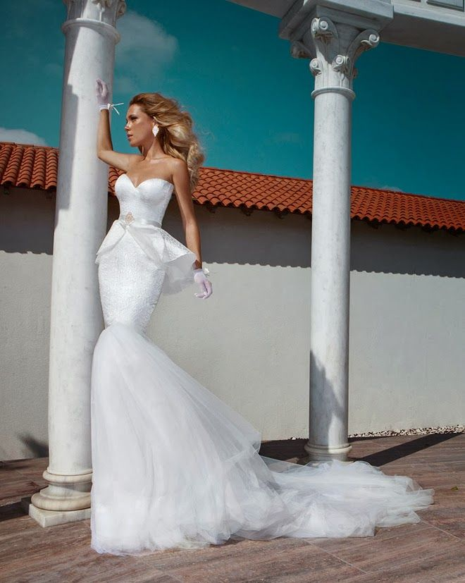 Wedding Dresses by Julie Vino Fall 2014 - Belle The Magazine
