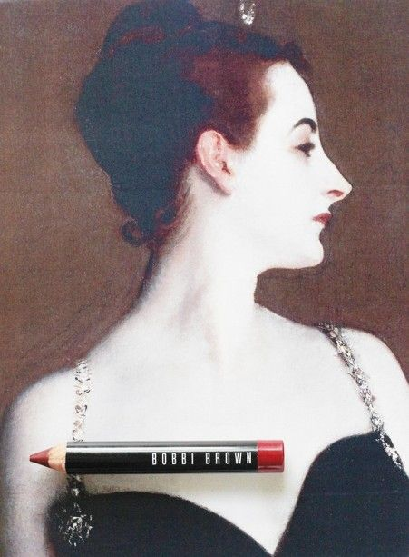 bobbi brown cassis art stick inspired by sargent s portrait of