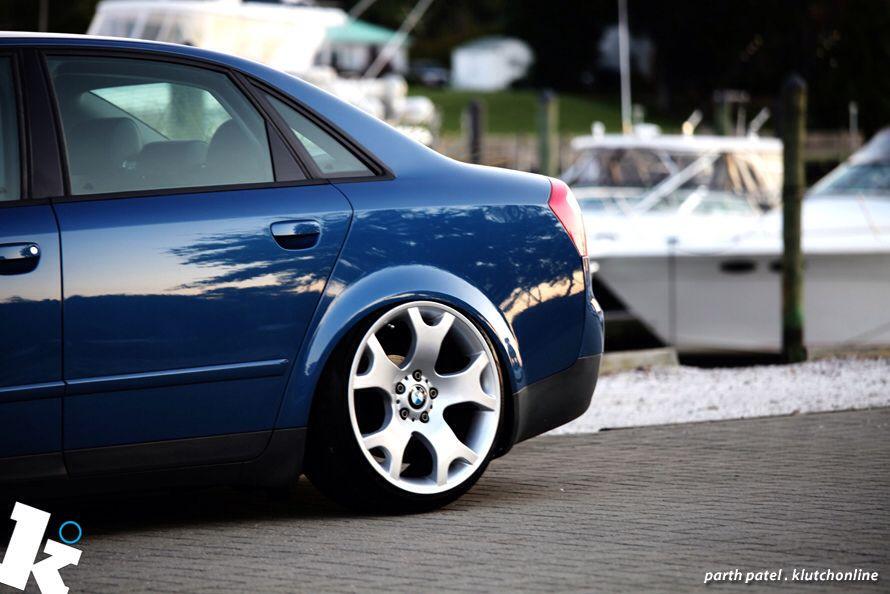 Audi B6 With Bmw Wheels