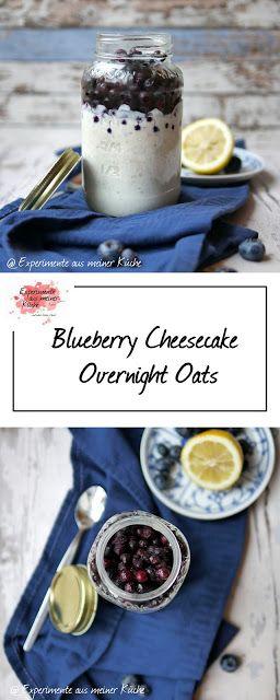Photo of Blueberry Cheesecake Overnight Oats