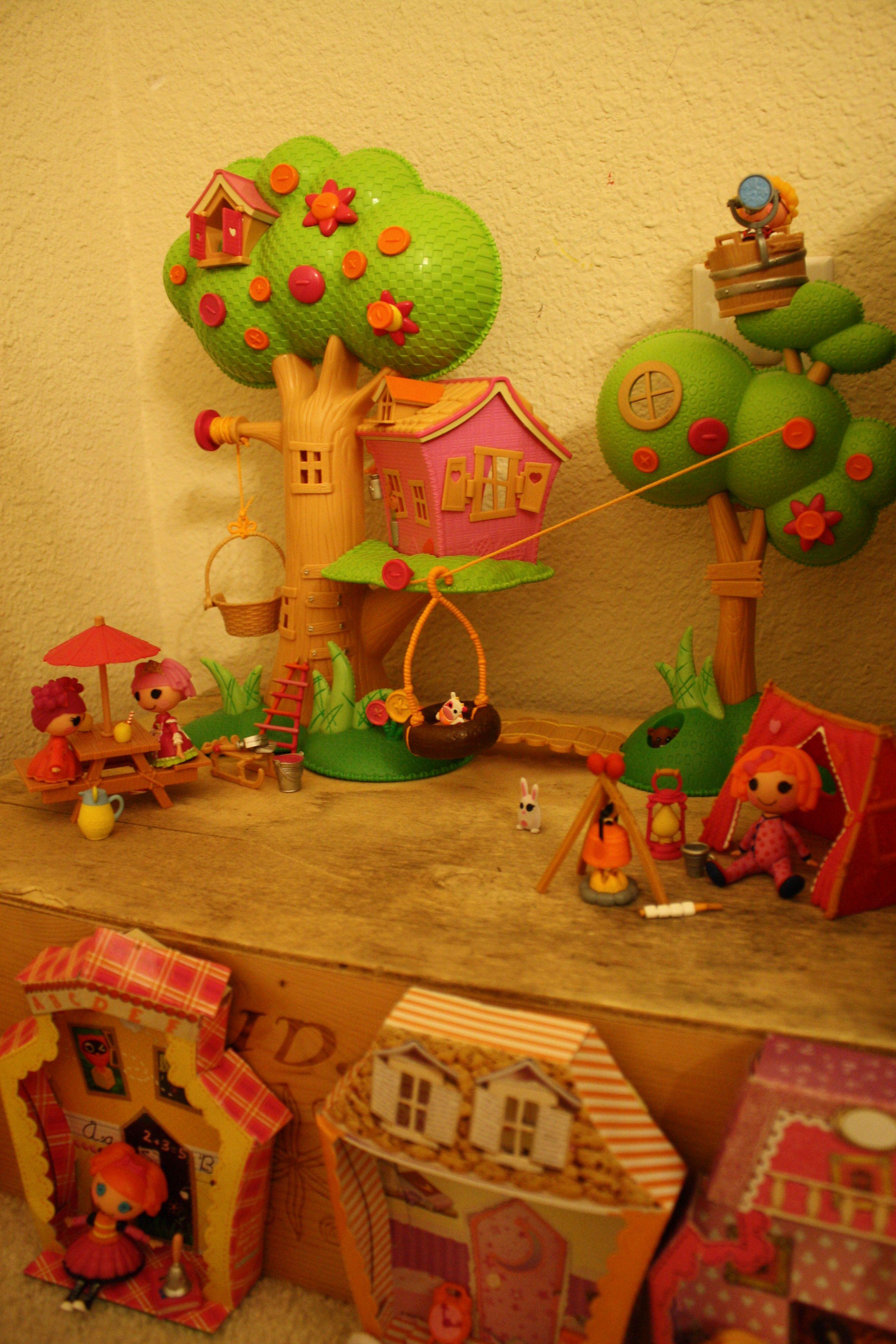 The Lalaloopsy treehouse!   Lalaloopsy, Christmas ...