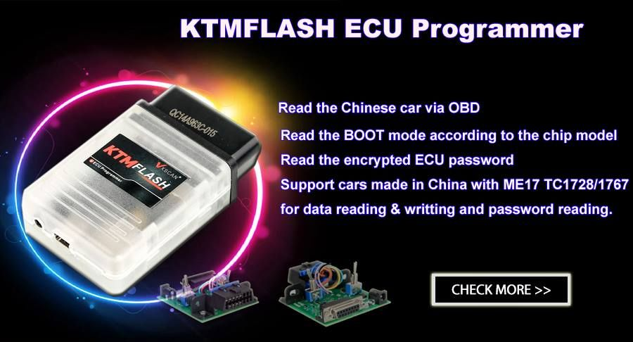 KTM FlASH KTMFLASH Car ECU Programmer KTM ECU Flash Supports