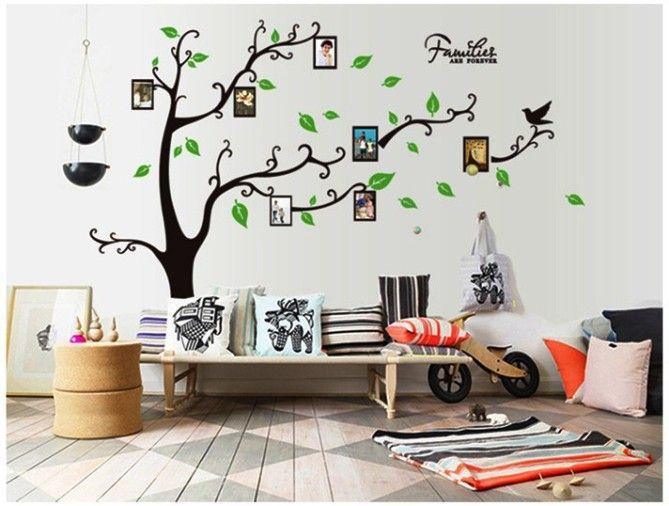 Hiasan Dinding Ruang Tamu Pohon Keluarga