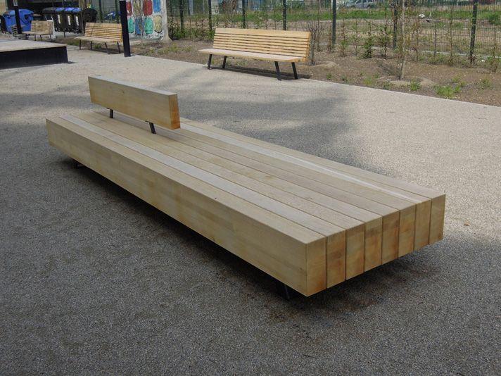 Parkbank wood yard BMU | Furniture OUT | Buiten