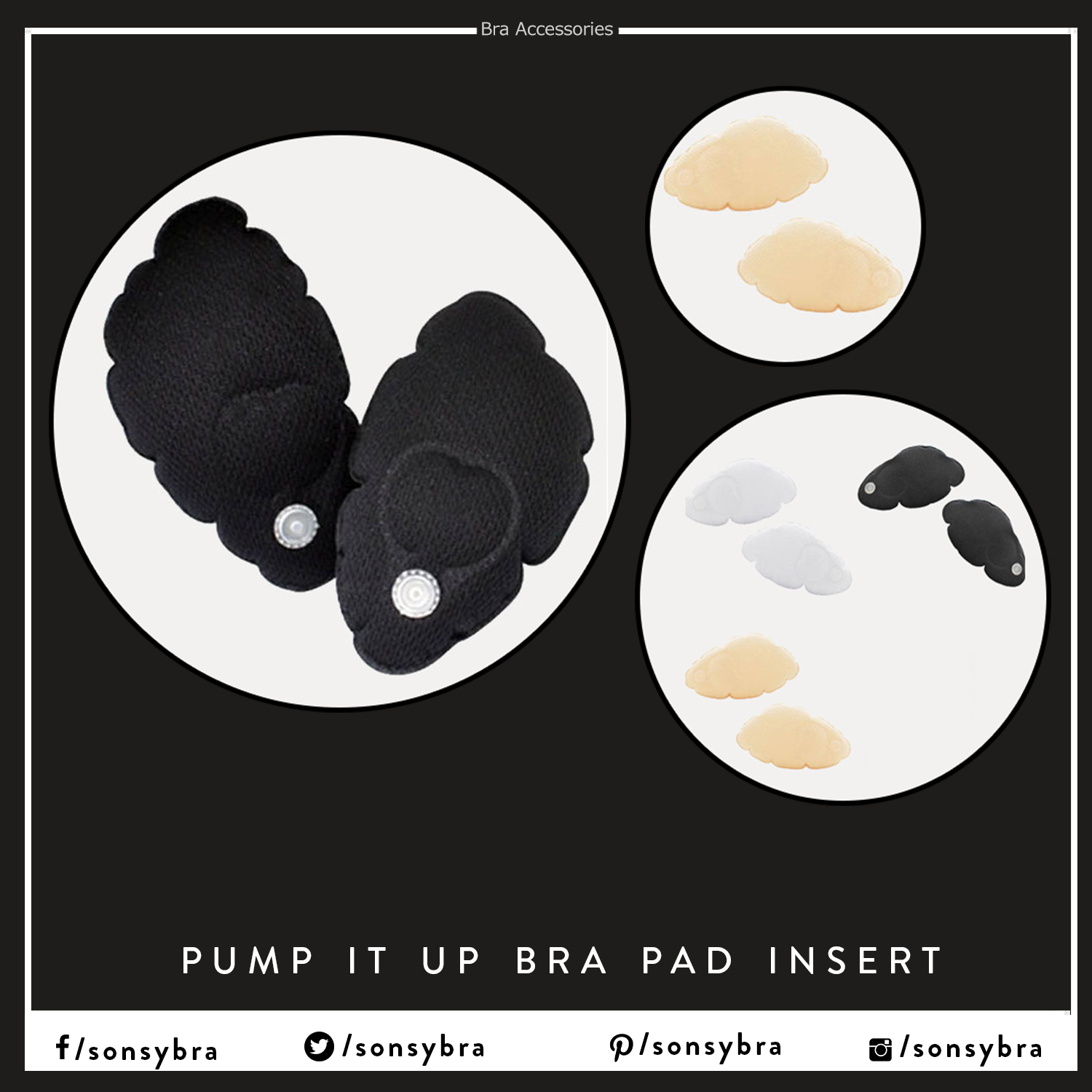 1e8a2a0d18 1pair Pump It UP Bra Pad  Insert Magic Bra Pad Inflatable Breast Enhancers  Acquire immersive in design  silicone inserts to lift up your cleavage size  ...
